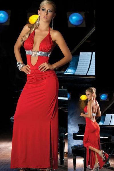 Deluxe Sequin Gown