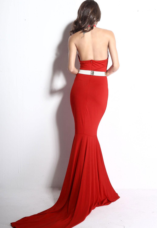 Red Cutout Mermaid