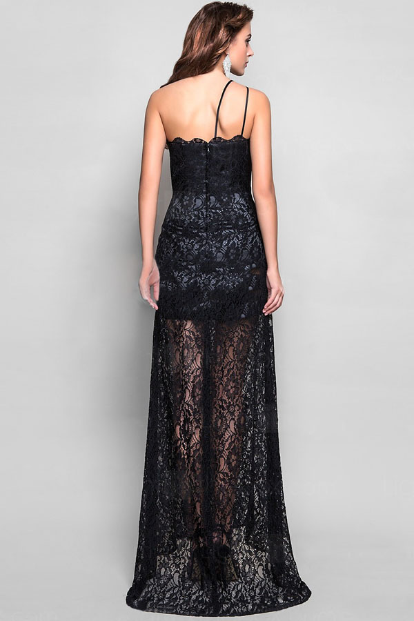 Black Maxi Lace