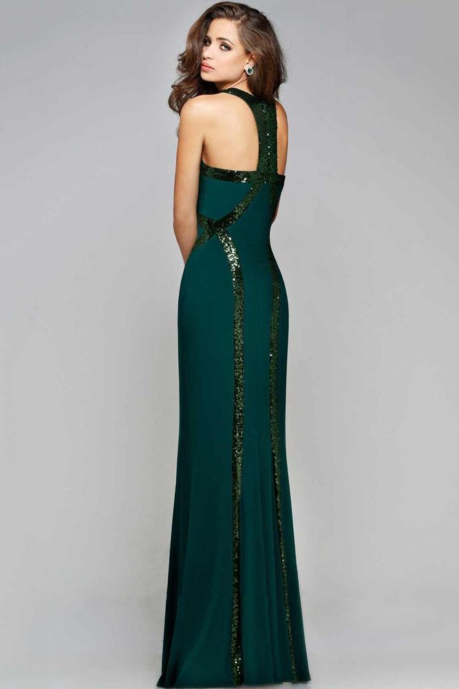 Sequin Trim Green