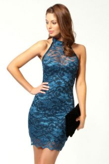 Blue Sweetheart Lace