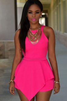 Pink Sleeveless Pep