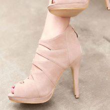 Apricot Stiletto Heels