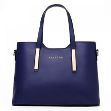 Concise Tote Navy Blue
