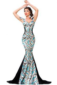 Silver Sequin Embellishment Elegant