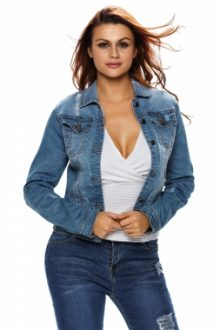 Light Stone Wash Denim Jacket