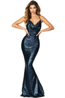 SEQUINED MERMAID GOWN