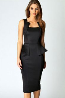 Abi Neck Detail Sleeveless in Black