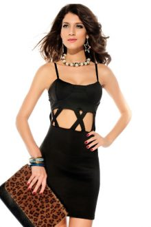 Crisscrossed Bodycon