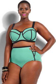Green Underwire Bikini
