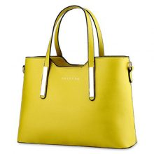 Concise Tote Bag Yellow