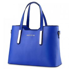 Concise Tote Bag Blue