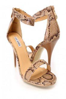Snake Print Ankle Strap