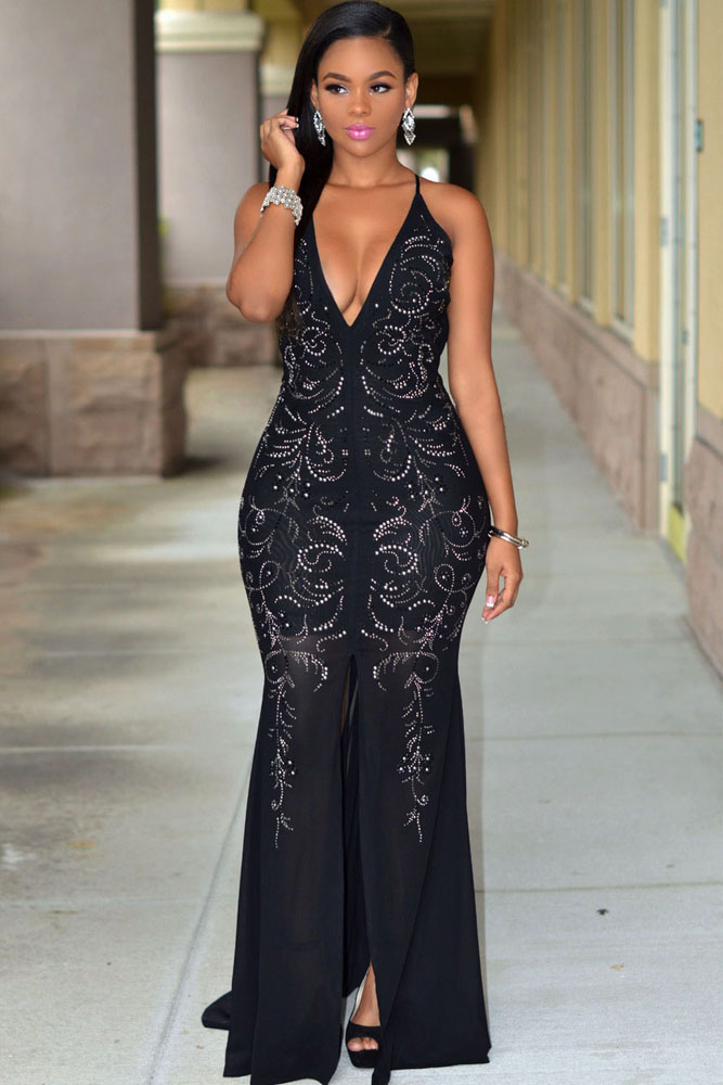 Black Jeweled Front
