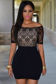 Top Off Shoulder Dress