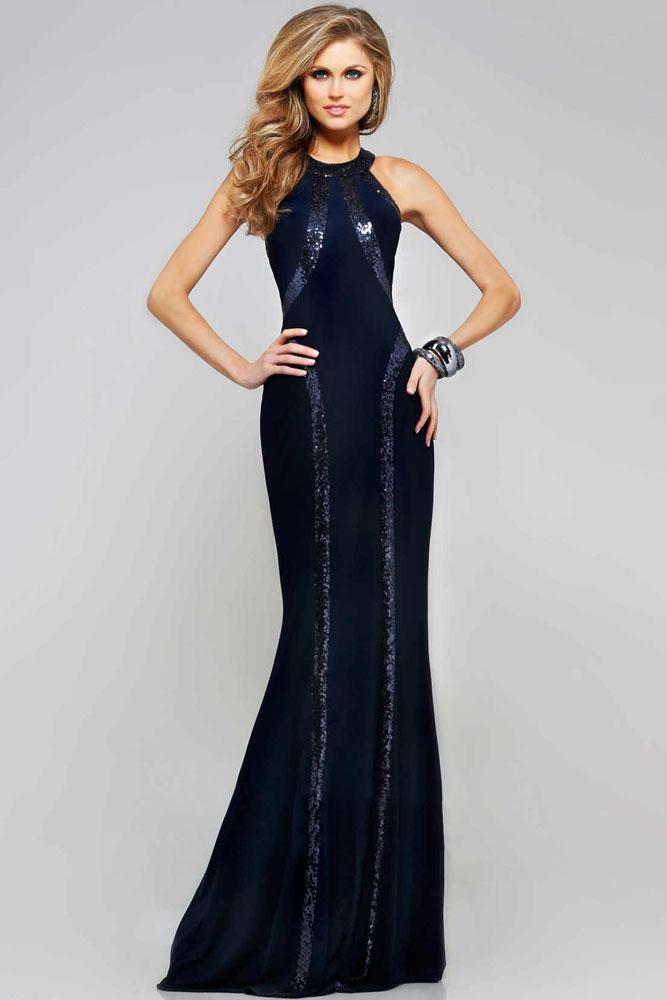 Sequin Trim Blue