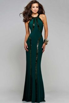 Sequin Trim Green