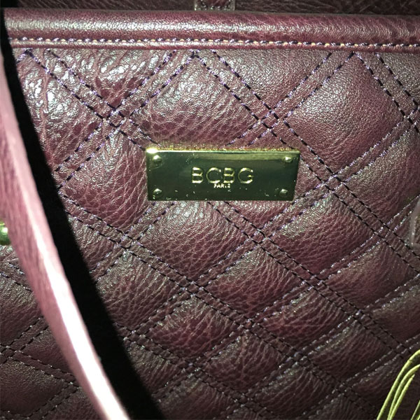 BCBG Paris Burgundy/wine Tote Bag