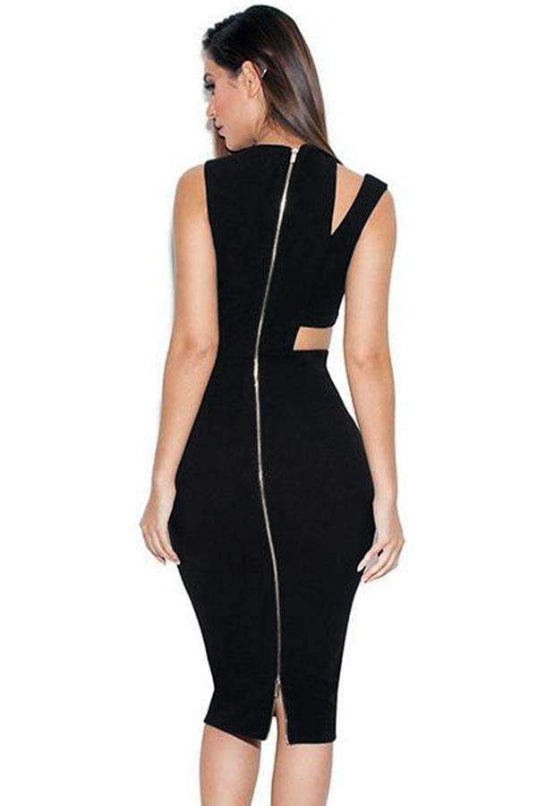 Sexy Black Bodycon Dress