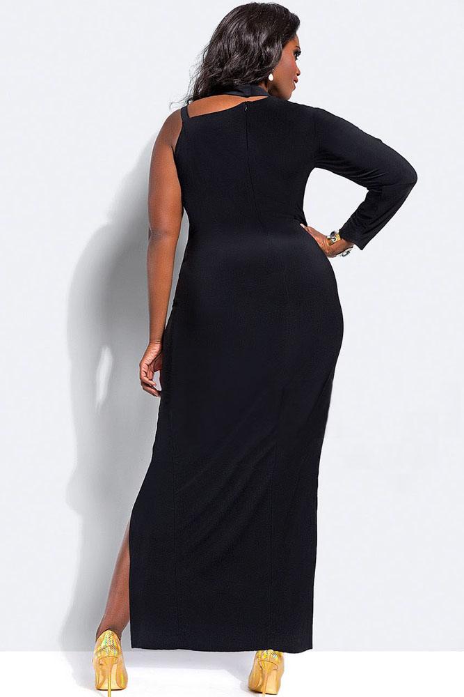 One Sleeve Maxi Dress