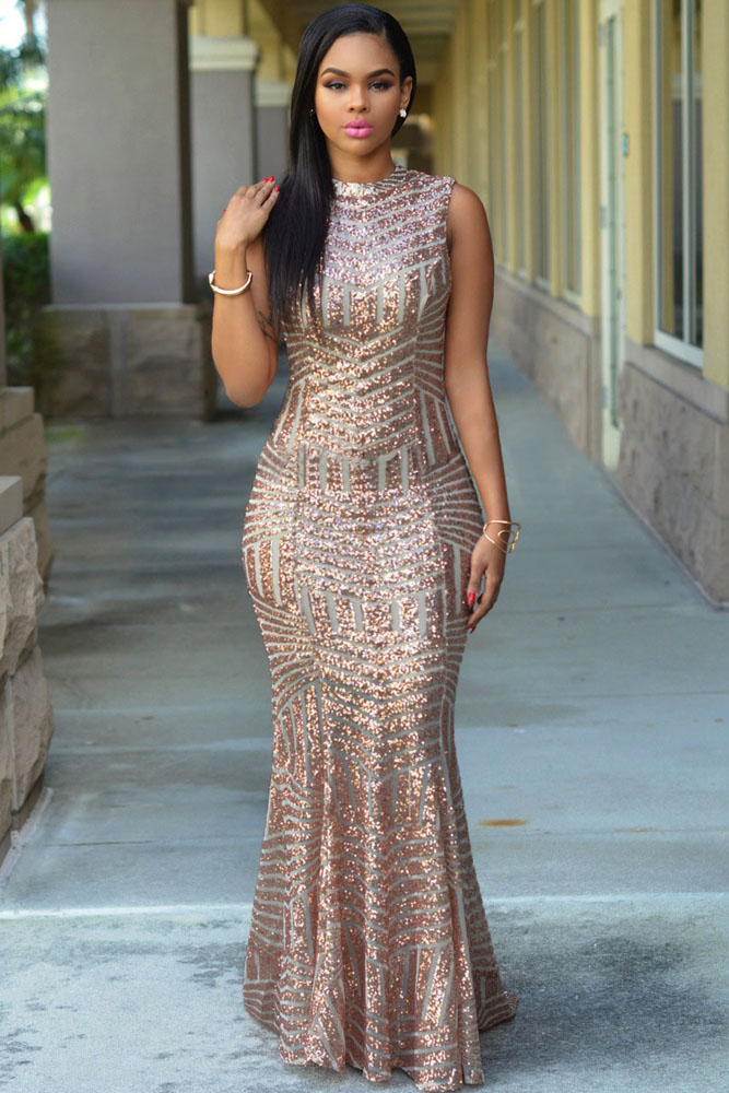 sequin dress | Charming Wear