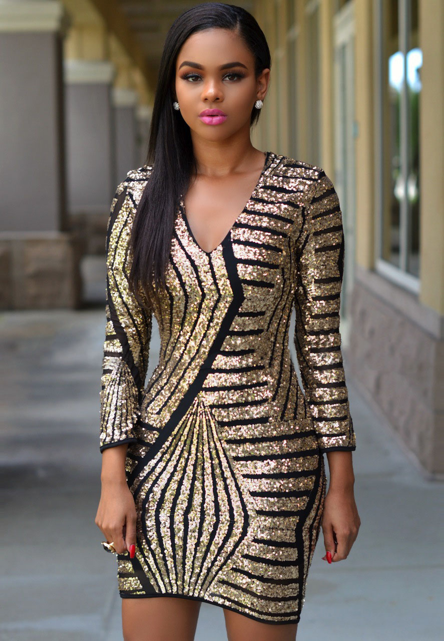 434541180de3 Product Description. Rose Gold Sequin Playsuit.  39.99. One Sleeve Maxi  Dress