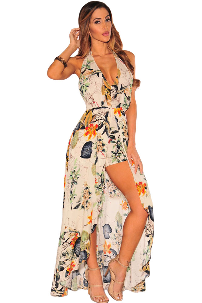 Plus Size Green Maxi Dress