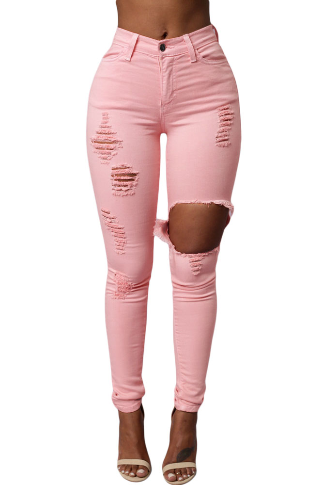 Discover Ripped jeans for women with ASOS. Distressed, destroyed, busted knee jeans in Black, Blue, skinny and slim styles with ASOS.