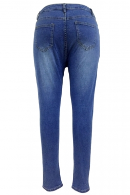 Extreme Shredded Rips High Waist Skinny Jeans