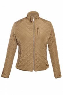 Khaki Cotton Quilted Jacket