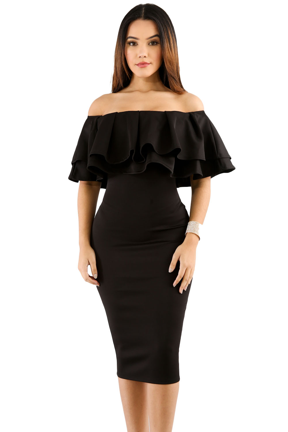 Uncover the right Women's Black Ruffle Dress, Juniors Black Ruffle Dress and Girls Black Ruffle Dress at Macy's. Macy's Presents: The Edit - A curated mix of fashion and inspiration Check It Out Free Shipping with $49 purchase + Free Store Pickup.