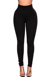 Lucie Black High Rise Booty Lifting Legging
