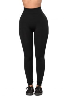 Black High Waist Sports Leggings